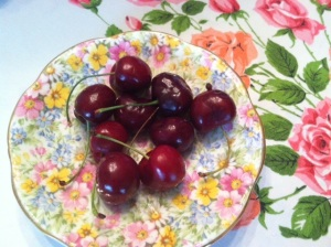I didn't think cherries would be the answer to my prayer.
