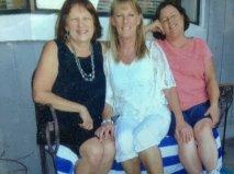 On our 2014 sister weekend: me, Roberta, Nan