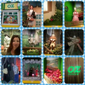 Pics from Rachel's visit to the Wizard of Oz Museum.